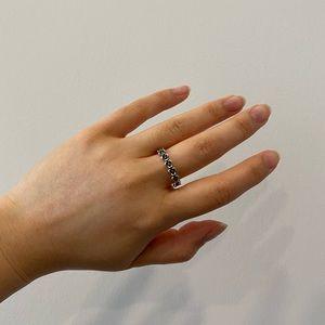 Pandora Floral Ring Sterling Silver